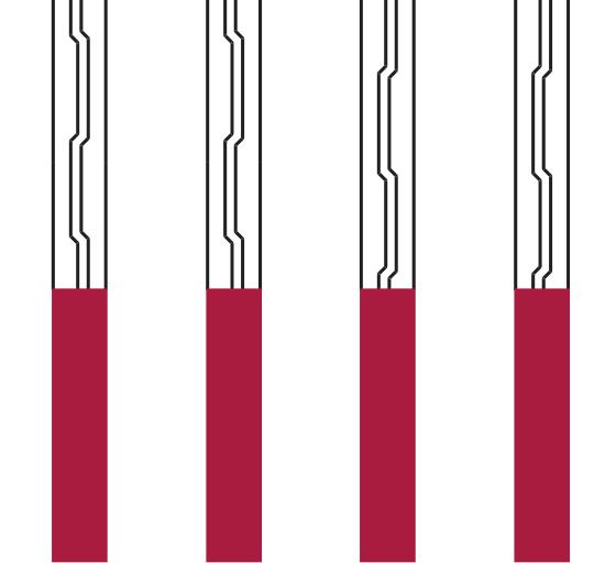 Abgefahrene Laufflächen - Anteo Pro S
